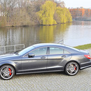 Mercedes CLS 63 AMG PP 558PS Hochzeit Auto mieten CLS63 AMG Performance Package