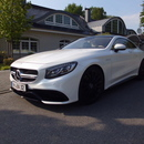 Mercedes S 500 Coupe S63 - Mercedes Luxuslimousine ab 100Euro die Stunde