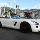 Mercedes SLS Roadster mit 572 PS in Traumkombination