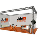Messestand, Traversensystem, Ground support, booth, stand, exhibition stand