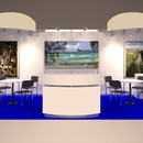 Oasis Messestand