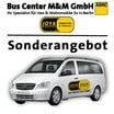 9-sitzer VW T5 Caravelle Classic oder Mercedes Benz Vito