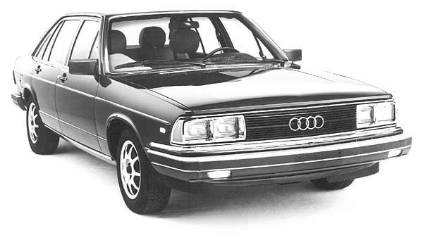 Audi 5000 fuel Injection CD 5E