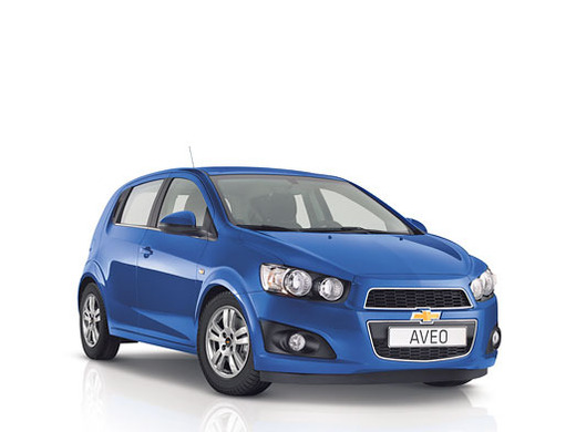 Chevrolet Aveo - Kleinwagen f&uuml;r 5 Personen