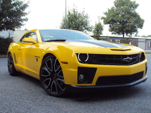 Chevrolet Camaro 2SS RS Coupe 6,2 V8 Transformers Bumblebee Edition für nur 119,- / h