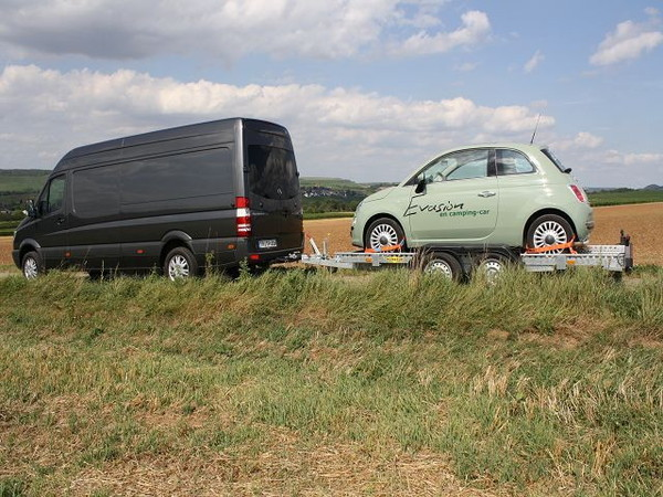 Mietwagen & Auto - FIAT 500 Diesel