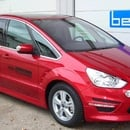 Hochwertiger Ford S-Max mit starken 200 PS Dieselmotor inkl. Navi, Bi-Xenon Scheinwerfer, Automatikgetriebe, Klimaautomatik mit klimatisierten Handschuhfach, interaktives Fahrwerk, Key-Free System, Leder/ Alcantara, Panoramaglasdach, uvm.. 