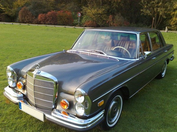 Mercedes 300 SEL 4.5 HOCHZEITSAUTO MIT FAHRER