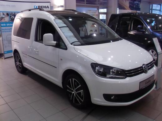 VW Caddy 2,0 TDI Automatik