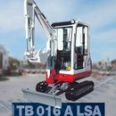 Bagger - Minibagger Takeuchi TB016, 1, 7 to.