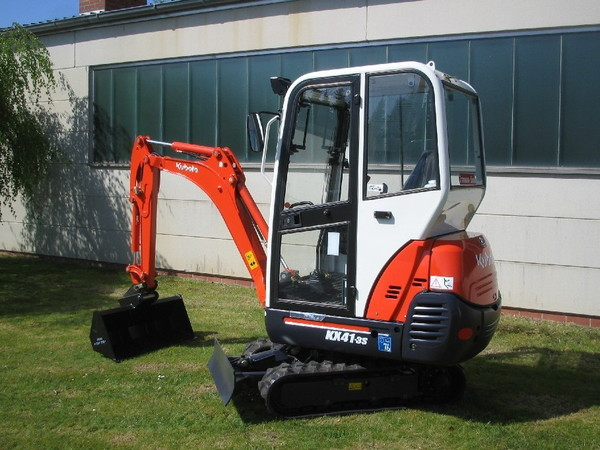 Minibagger - KUBOTA KX 41-3