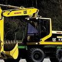 Mobilbagger CAT M 315 C bis 16 to