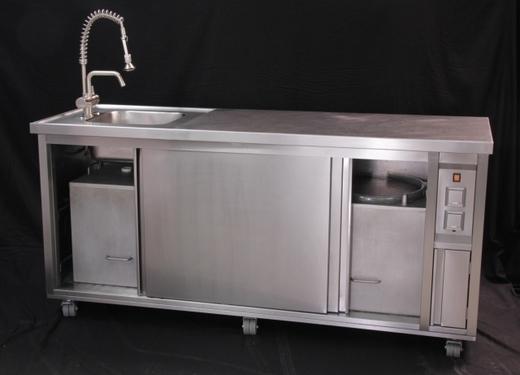 sp le mobil ca 100 l frischwassertank schon ab 107 pro tag mobile k che bistro. Black Bedroom Furniture Sets. Home Design Ideas