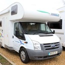 6 Berth Luxury Motorhome Located in Peterborough
