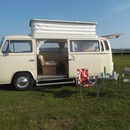 Classic 1972 VW Campervan Hire - Yorkshire