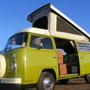 Classic 1976 VW Campervan Hire - Yorkshire