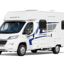 Hire 4 Berth Escape fixed Bed - Amber Leisure Motorhomes
