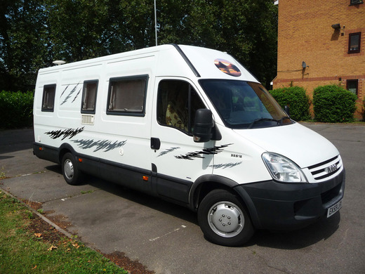 Beautiful Motorhome Hire London  CI Riviera Low Profile