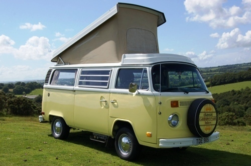 vW Campervan hire - Daisy