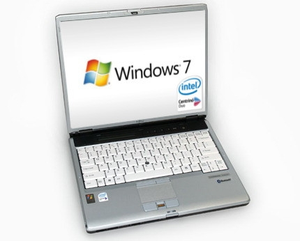 Fujitsu Lifebook Business Notebook Laptop Dual Core1, Windows 7 oder XP