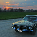 Ford Mustang Coup�  -  Baujahr 1968