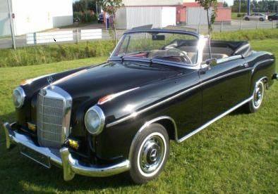 mercedes 220 cabrio oldtimer. Black Bedroom Furniture Sets. Home Design Ideas