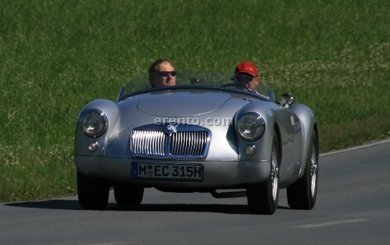 Oldtimer - MG A 1500 Roadster