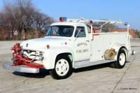 oldtimer us feuerwehr truck 1955 ford f500 truck pickup. Black Bedroom Furniture Sets. Home Design Ideas