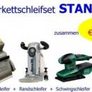 Parkettschleifer - Standard-Set mit 4 Gerten zum Sonderpreis