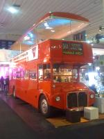 Doppeldecker Londonbus fuer Messe - Roadshow - Event