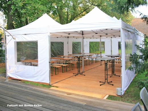 faltzelt 3x3m partyzelt 6218598584. Black Bedroom Furniture Sets. Home Design Ideas