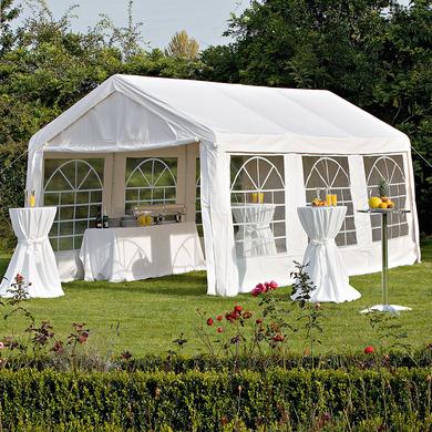 partyzelt festzelt pavillon 4x6 meter pvc. Black Bedroom Furniture Sets. Home Design Ideas