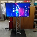 "SET 2 X Plasma Display 60 "" Pr�sentationsdisplay Fernseher Full HD incl Stativ"