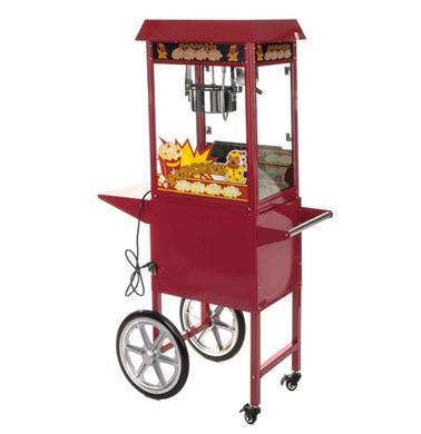 Popcornmaschinen mit Heiluft - Popcorn selber machen