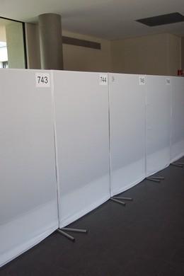 Metaplantafel 150x120 cm pinwand moderationstafel mieten