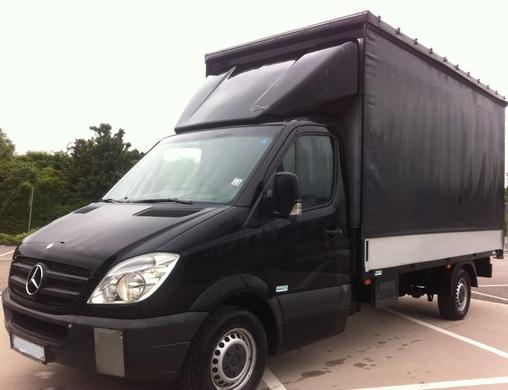 mercedes benz 316 cdi pritsche plane transporter koffer. Black Bedroom Furniture Sets. Home Design Ideas