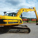 JCB Raupenbagger JS220 Long-Reach