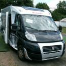 Half integrated Motorhome with single beds and SAT TV, Dethleffs Magic Edition