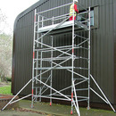 4.7m Handrail Narrow Tower Hire (2.5m Deck)
