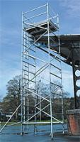 Alloy Scaffold Tower for Hire - up to 9.7m