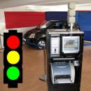 Verkehr Simulator / Ampel mit Reaktionstest / Simulator f�r Fahrsicherheit / Fahrsimulator Sonderschau / Top Messe Simulator / Verkehrsicherheit Simulator / Alternative zu �berschlag Simulator