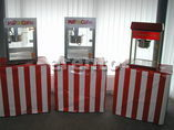 Pop Pop Pop Popcorn, Popcornmaschine inkl. Material, Transportcase f&uuml;r Spedition. Herrilicher Jahrmarktduft auf Ihrer Veranstaltung. Jetzt Katalog anfordern, unsere Popcornmaschinen sind Versandf