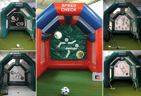 Soccer-Module - Speed Check / Ball Box / Torwand / Shoot out / Radar / Sportradar / Fu&szlig;ballradar / Kick