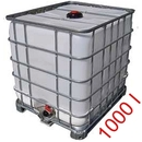 Wassertank 1000 Liter auf Alugestell 