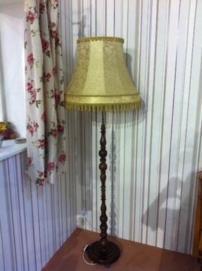 Stehlampen stehlampen standlampe lampe licht for Wohnzimmer 60er