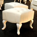 Barock - Lounge Hocker