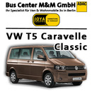 Volkswagen T5 Caravelle Classic oder MB Vito Kleinbus  7 - 9 sitzer