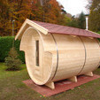 Mobile Sauna mieten Fasssauna Gartensauna auf Anhnger Mobilsauna Saunafass