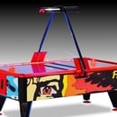 Airhockey - Air Hockey - Air Soccer - Fire and Ice - Airhockeytisch - Turniertisch