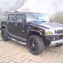 2008 Hummer H2 mit 6.2V8 Neues Modell - Ohne Werbung! Nicht als Mietwagen erkennbar.